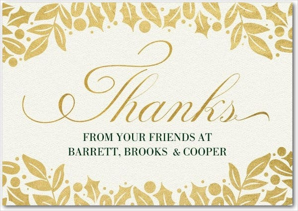 business holiday thank you card1