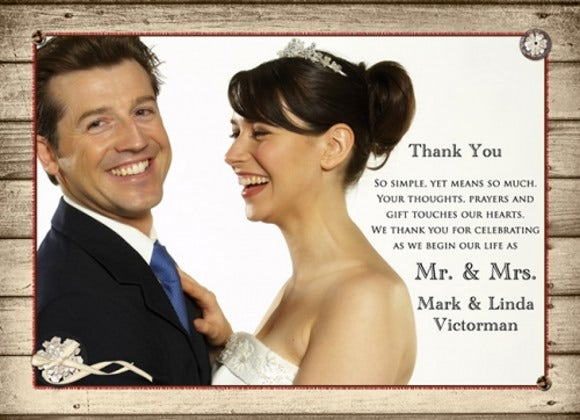rustic wedding thank you card1