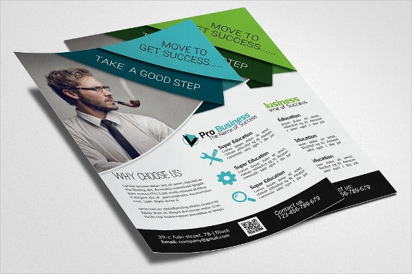 business training agency flyer