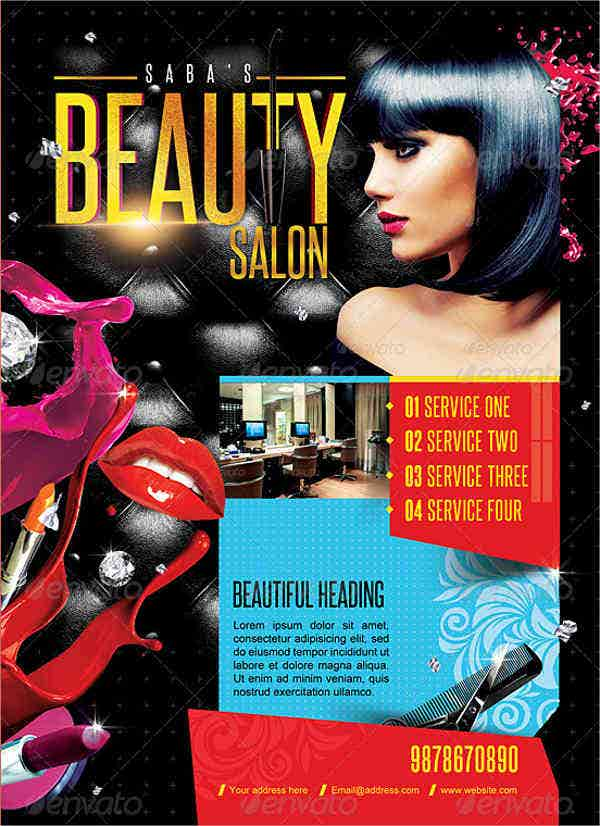 beauty salon business promotion flyer2