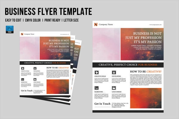 70 business flyer templates word indesign psd free premium