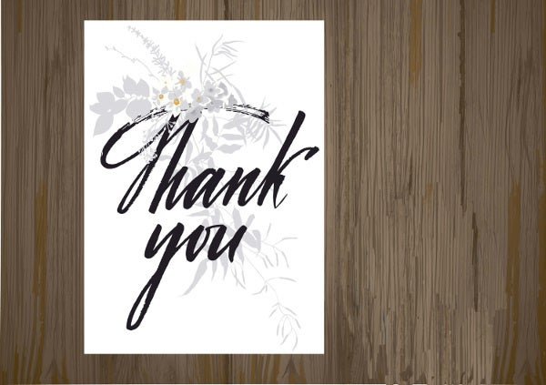 diy thank you gift card