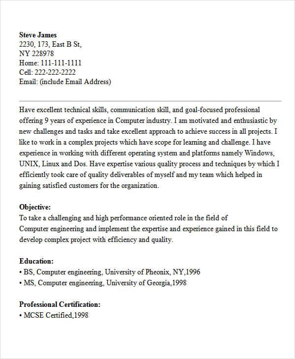 computer engineering student resume5