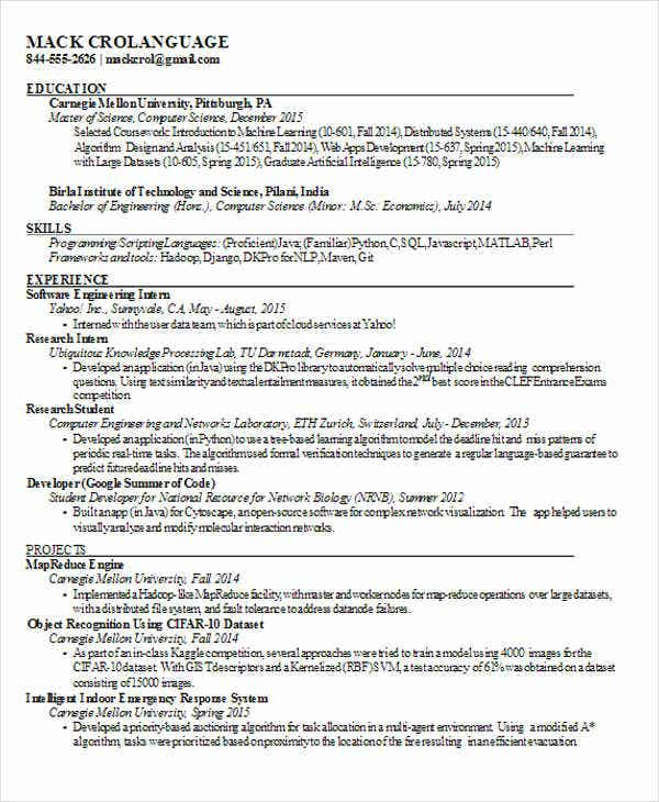 25 best engineering resume templates free premium