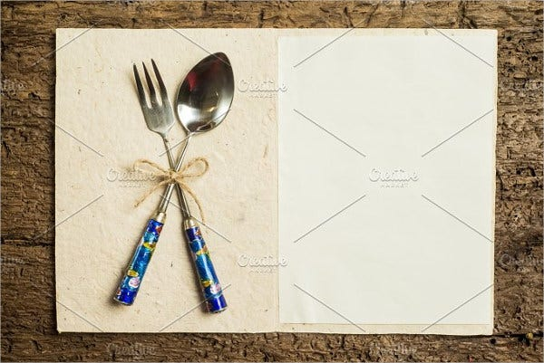 catering holiday menu design