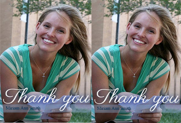 free photo thank you card1