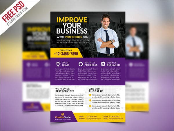 62 business flyer templates free premium templates multipurpose corporate business flyer flashek Images