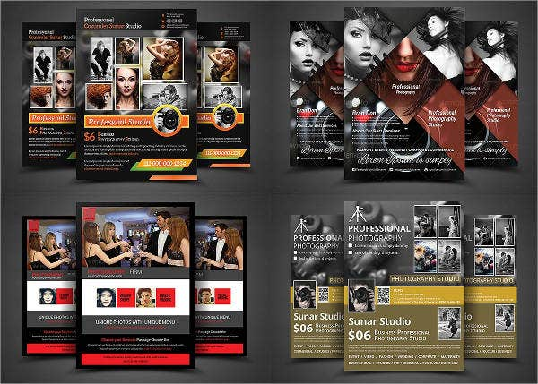 photography business flyer psd
