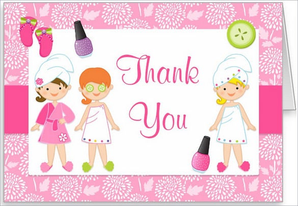 spa-birthday-party-thank-you-card