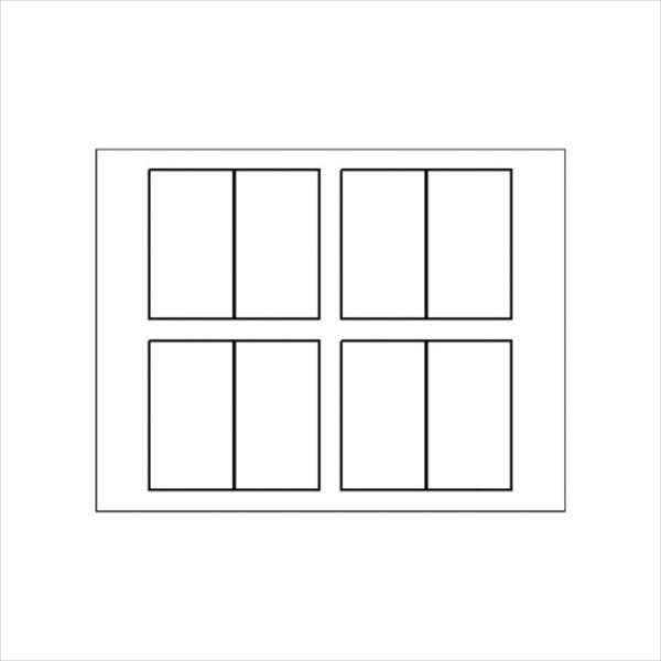 Blank Folded Business Card