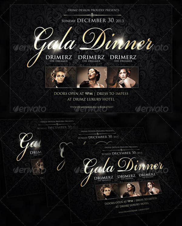 business-gala-dinner-flyer
