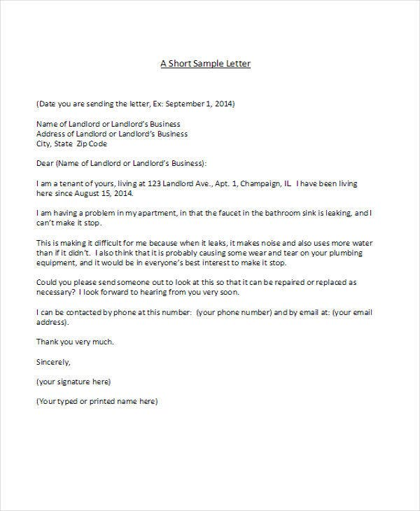 34 complaint letter templates free premium templates landlord manager complaint spiritdancerdesigns Gallery