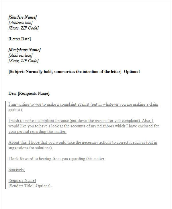 Complaint letter to landlord template with sample oukasfo tagscomplaint letter to landlord template with samplehow to write a complaint letter to the landlord samplecomplaint letter example sample template amp spiritdancerdesigns Gallery