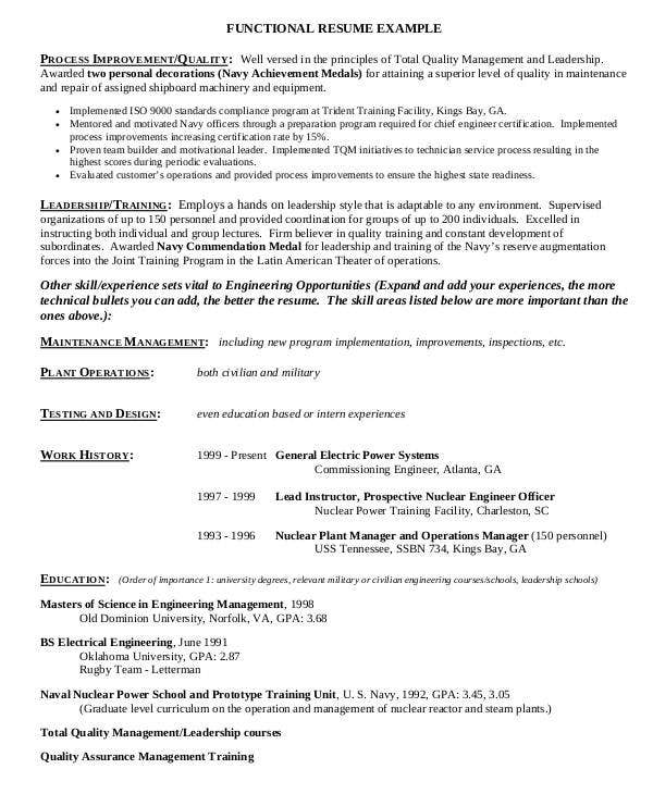 experienced professional engineering resume2