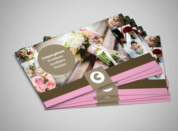 Wedding business card template choice image business cards ideas 53 business cards free psd eps vector jpg format download wedding florist business card friedricerecipe choice reheart Choice Image