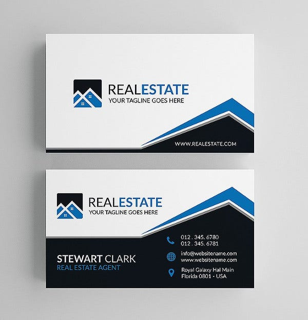 70 psd business cards free psd eps vector ai jpg format real estate agent business card colourmoves