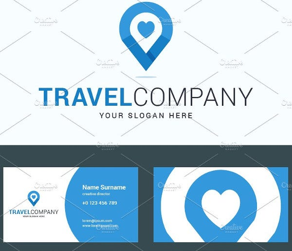 Travel Company Business Card
