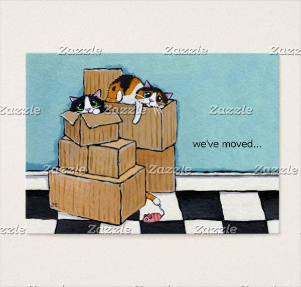 business-moving-announcement-card