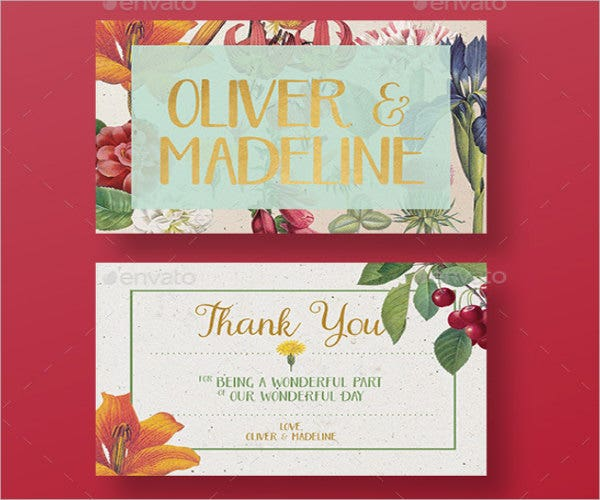 vintage-thank-you-wedding-card