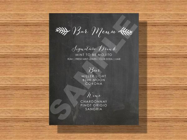bar menu card2