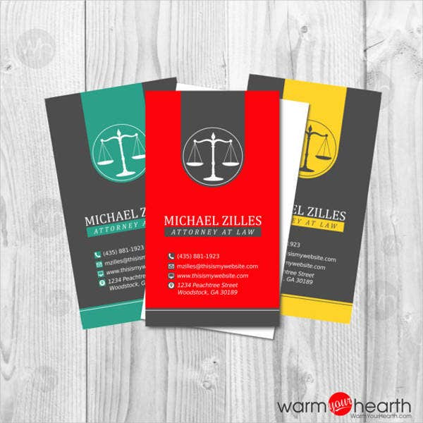 Business card designs free premium templates professional legal business card reheart Gallery