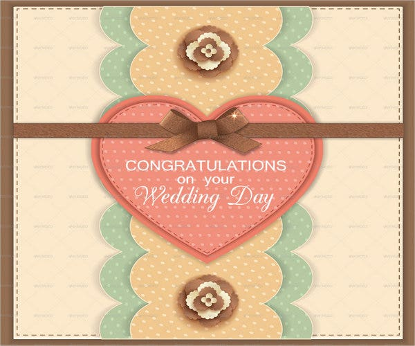 handmade wedding greeting card1