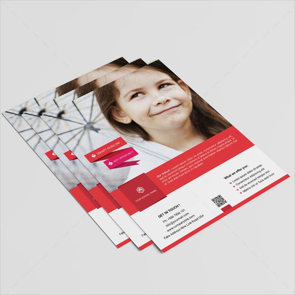 school-business-services-flyer