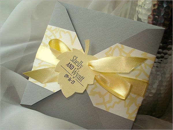 special handmade wedding card