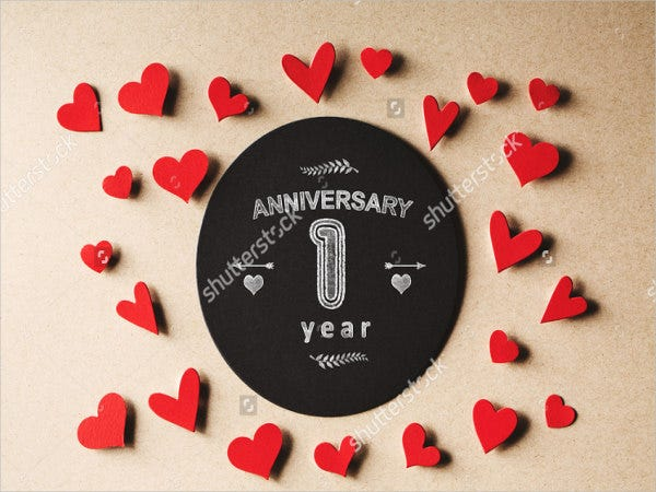handmade wedding anniversary card