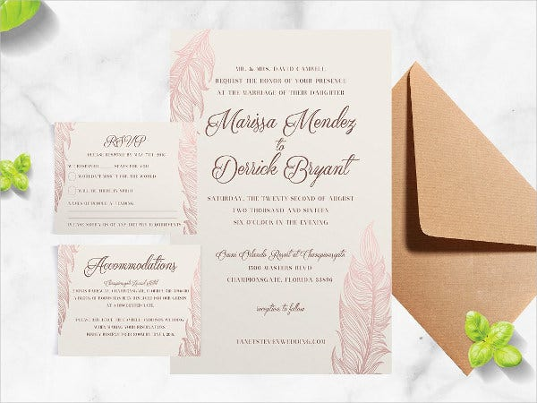 wedding hotel accommodation card1