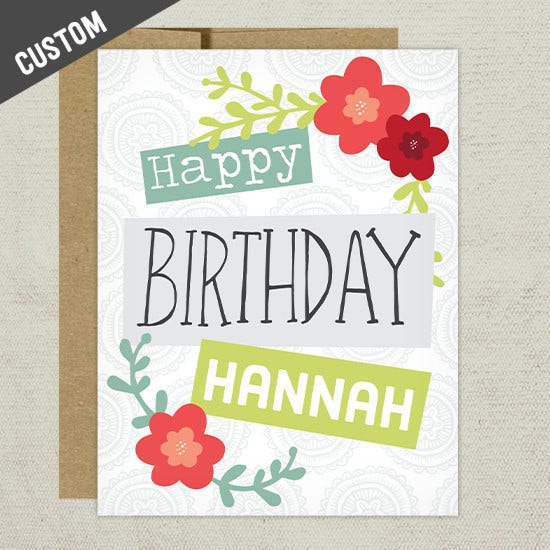 Business Birthday Greeting Card
