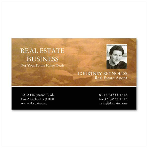 real-estate-agent-business-card