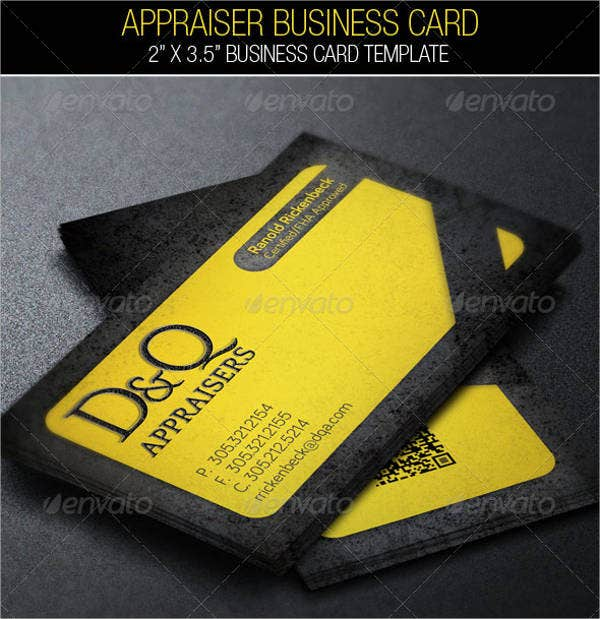 real-estate-appraisal-business-card
