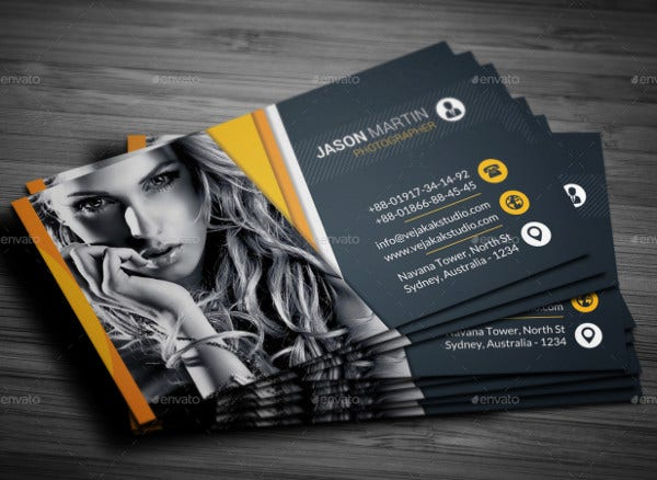 Diy Photography Business Card
