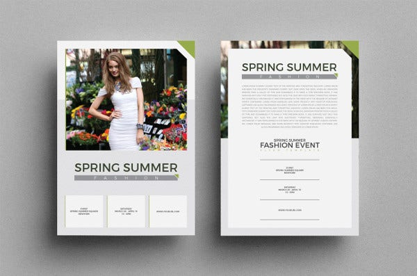 spring-event-flyer-template