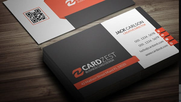 53+ Business Card Templates - Pages, Word, AI, PSD