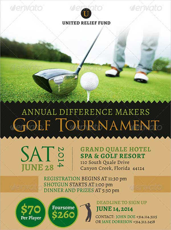 charity-golf-flyer-template