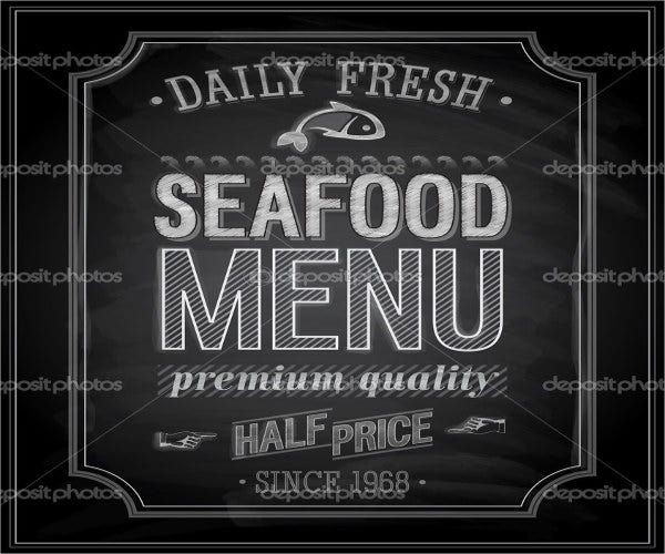 restaurant-chalkboard-seafood-menu