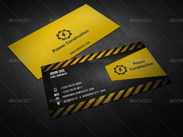 70 psd business cards free psd eps vector ai jpg format professional construction business card reheart Image collections