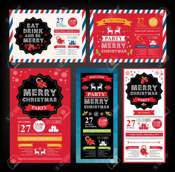holiday-party-flyer-template
