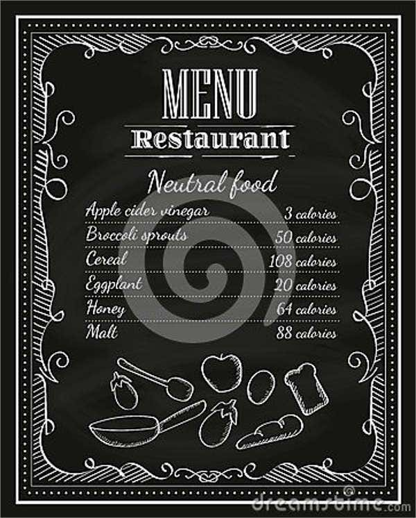 chalkboards restaurant