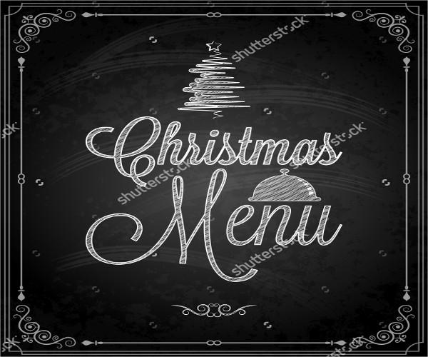christmas-chalkboard-lettering-menu
