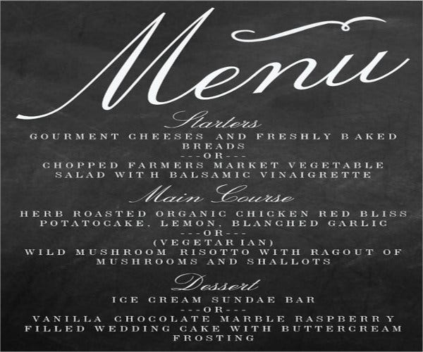 fancy-chalkboard-lettering-menu