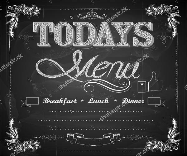 personalized-chalkboard-lunch-menu