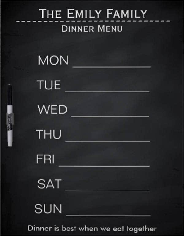 chalkboard-weekly-dinner-menu