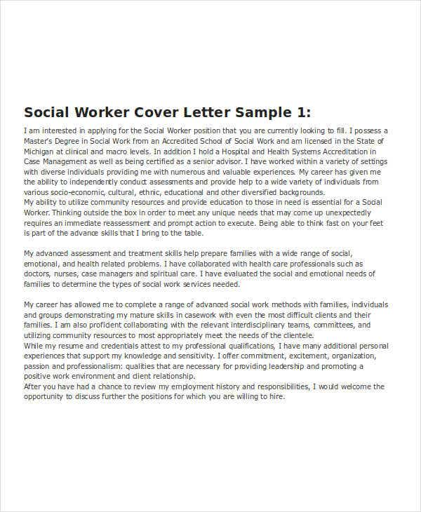 Cover Letter Example Monash