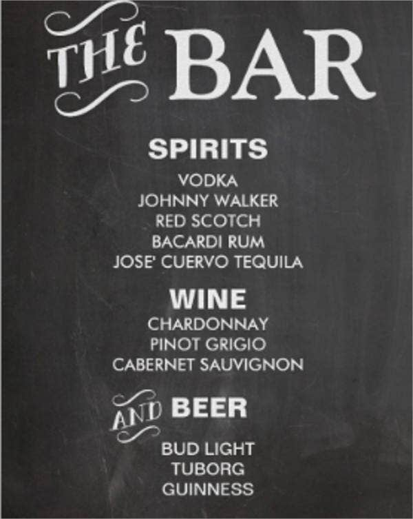 wedding-reception-chalkboard-bar-menu