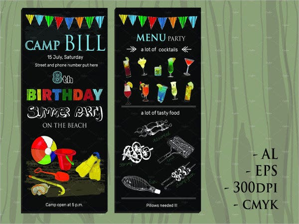 childrens-birthday-chalkboard-menu