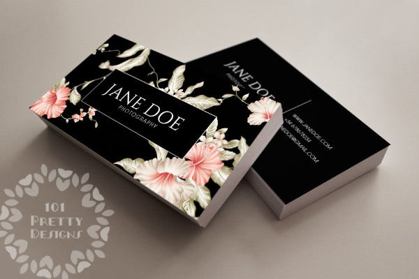 70 psd business cards free psd eps vector ai jpg format wedding florist business card friedricerecipe Images