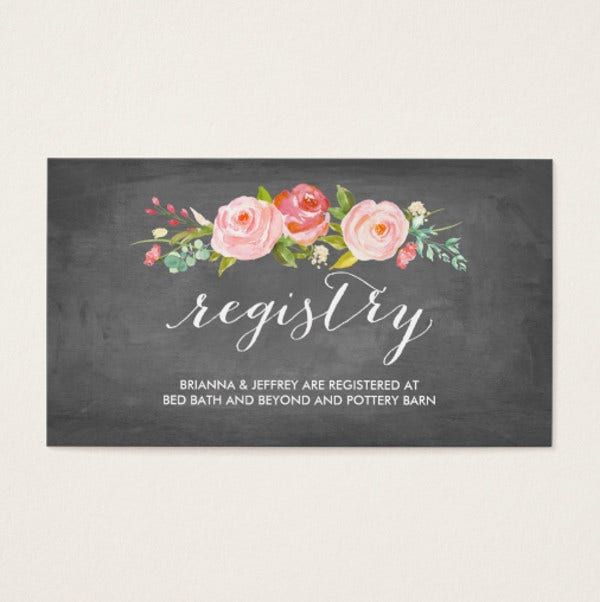Wedding Invitation Business Card